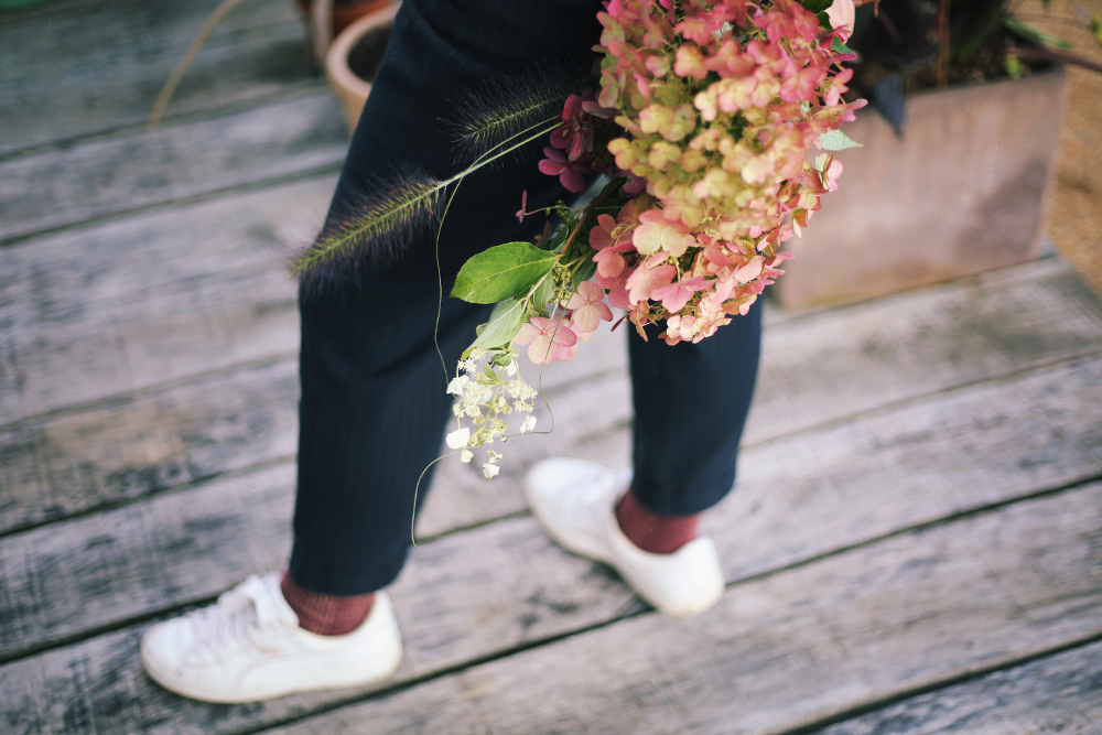 Bouquet hortensia imfg-102
