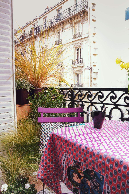 Aménager un balcon au soleil l'après-midi - In my french garden