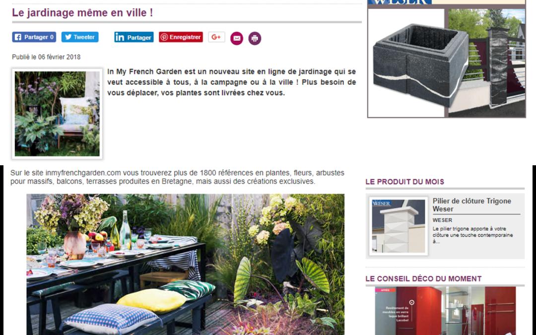 Article de presse sur Dko maison.com