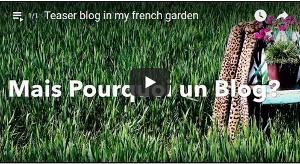 Le blog In my french garden bientôt !