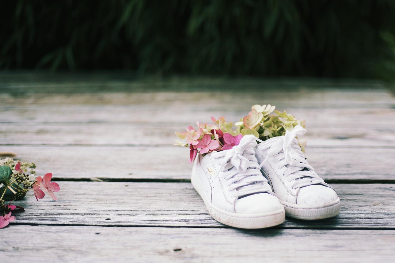 Bouquet dans des baskets imfg-58