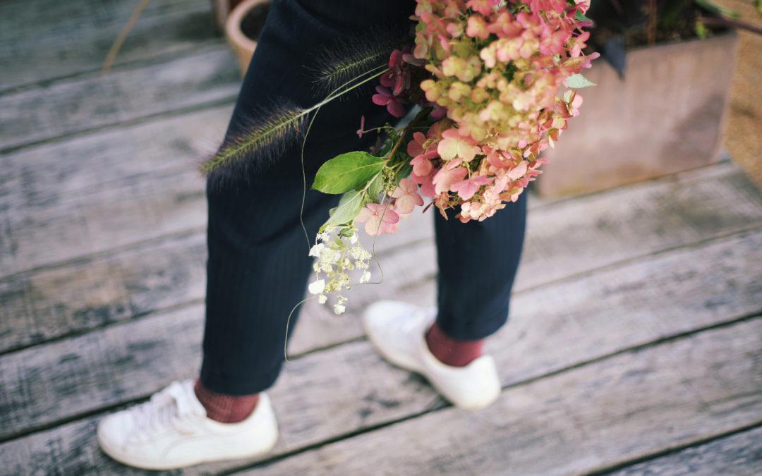 Je fais mon bouquet d'Hortensias