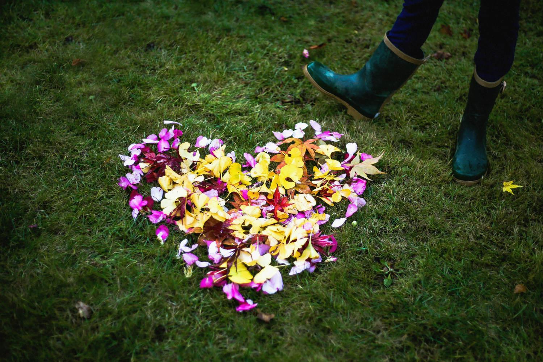 coeur de fleurs 150