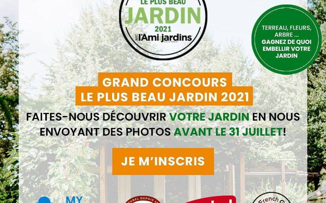 Concours du plus beau jardin 2021
